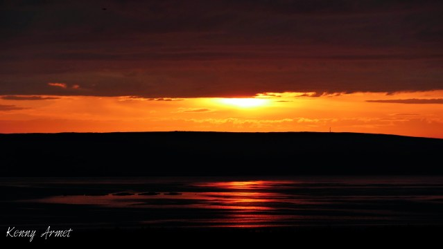 Sunset Kirkwall Bay 16th July 19
