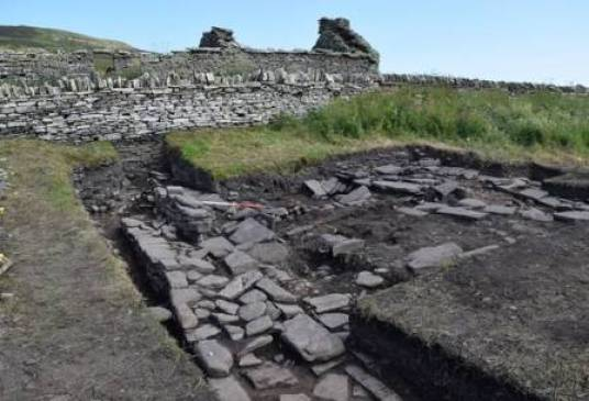 Viking Drinking Hall Rousay