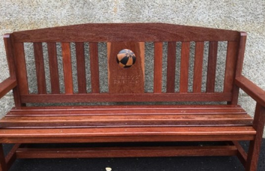 Kirkwall improvements bench Steven Miller