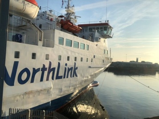 Northlink Ferry at Aberdeen