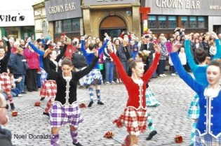 Highland dancers Wick Donaldson