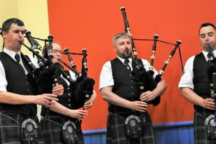 Kirkwall and Tasmania Donaldson pipers