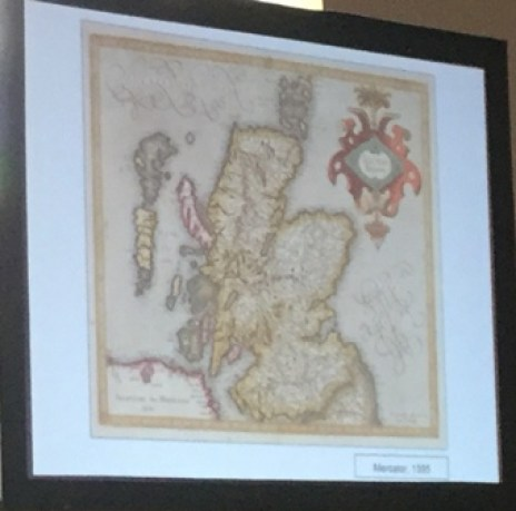 Mercators map of Scotland