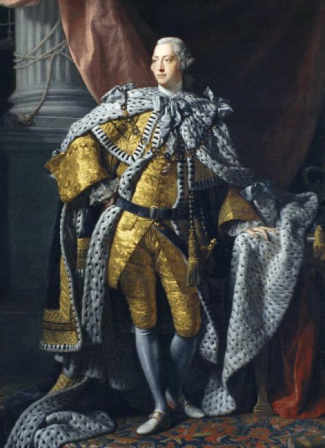 King George III by Allan Ramsay 1787