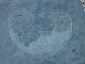 St Magnus Waymarker stone France Pelly Orphir credit: Bell