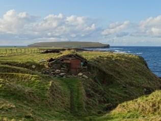 fishermens huts Birsay