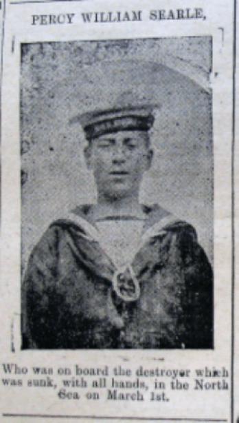 Percy William Searle HMS Pheasant