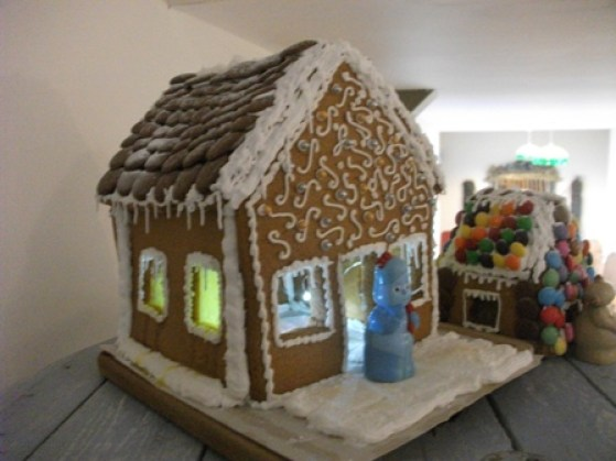 gingerbread house Fernvalley Christmas Bell