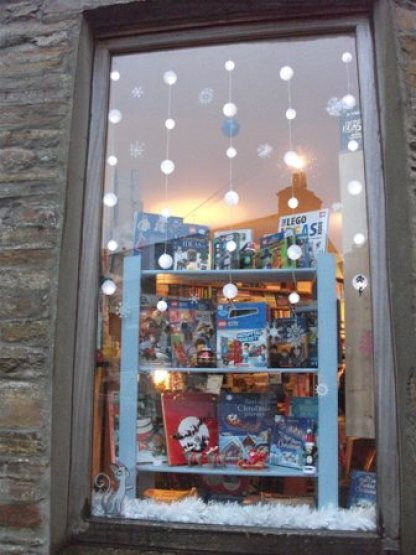 Stromness book shop Christmas B Bell