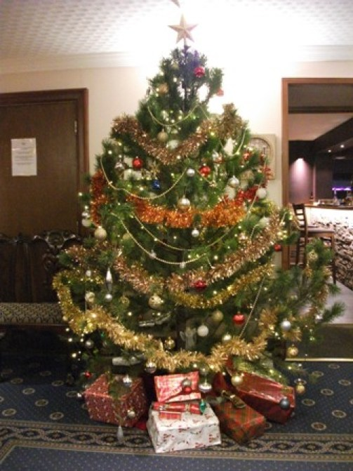 Christmas Tree Orkney Hotel Bell