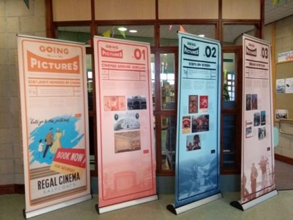 cinema exhibition at Orkney Library and Archive