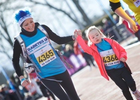 Inverness Half Marathon 2015 - 5K charity runners by Paul Campbell