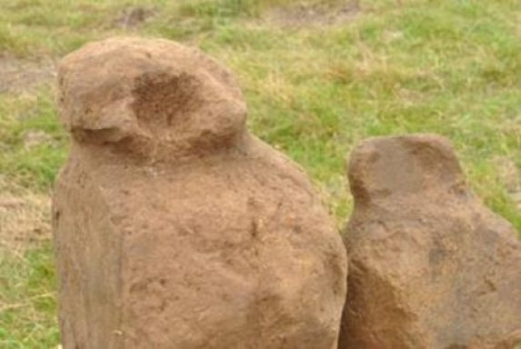 Finstown Bronze Age stone figures