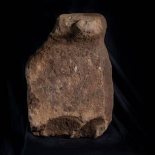 One of the figurines discovered at Finstown, Orkney after cleaning. Credit: Orkney.com