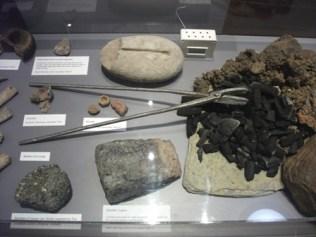 Broch artefacts Orkney museum