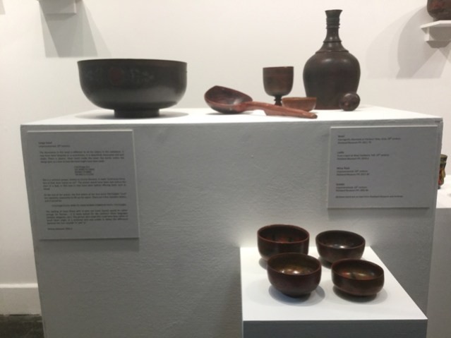 Riga Bowls exhibition Orkney Museum