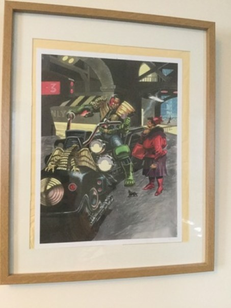 Jim Baikie Judge Dredd