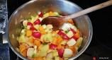 Radish & Mixed Veg Soup 4