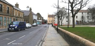 Kirkwall's empty streets at the start of the Covid19 lockdown