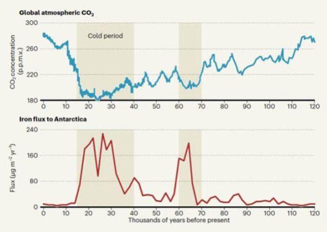 Analyses of Antarctic ice cores