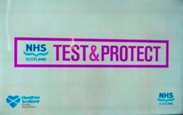 Test and Protect NHS Scotland Covid19 logo