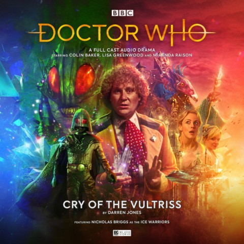 Dr Who Cry of the Vultriss audiobook
