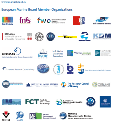 European Marine Board members