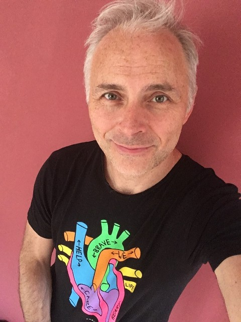 Mark Bonnar - Heart of Scotland T-shirt