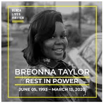 Breonna Taylor rest in peace Black Lives Matter