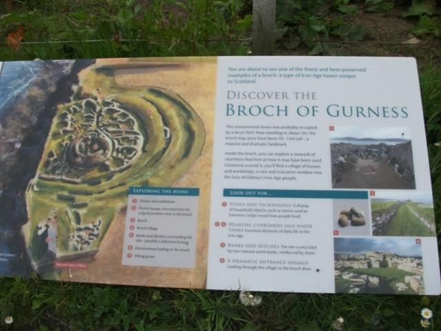 Broch of Gurness credit Bell