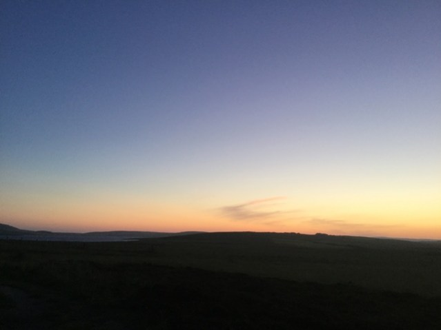 summer solstice  view from Brodgar