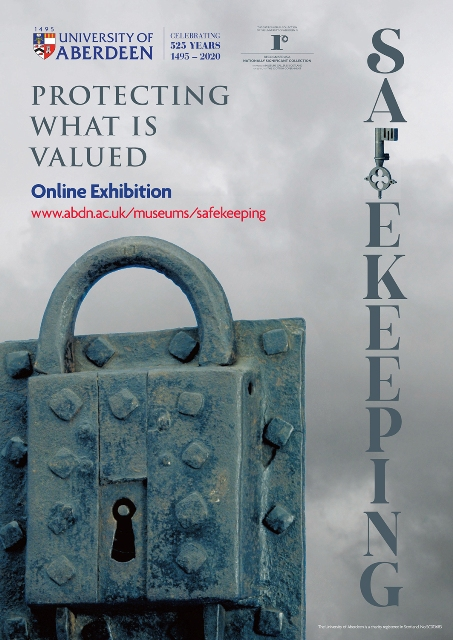 Exhibition Poster Protecting What is Valued Aberdeen University