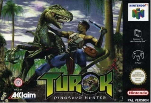 Turok Dinosaur Hunter video game