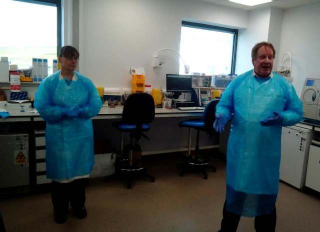 NHS Orkney Testing Lab Covid19 N Morrison