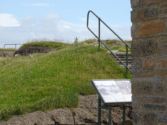Skara Brae during lockdown July 2020 Bell