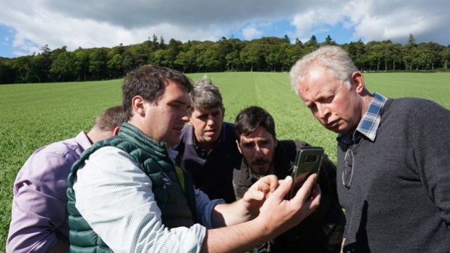 Farmers discuss soil health credit SAC Consulting