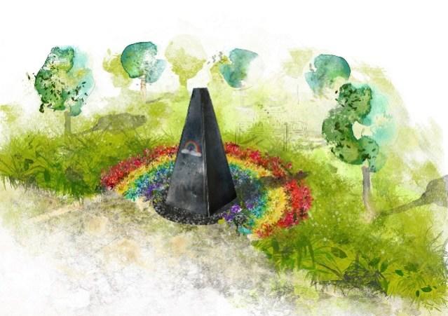 Westerleigh COVID-19 Memorial Garden