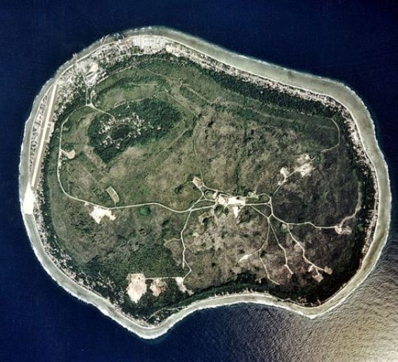 Nauru satellite image