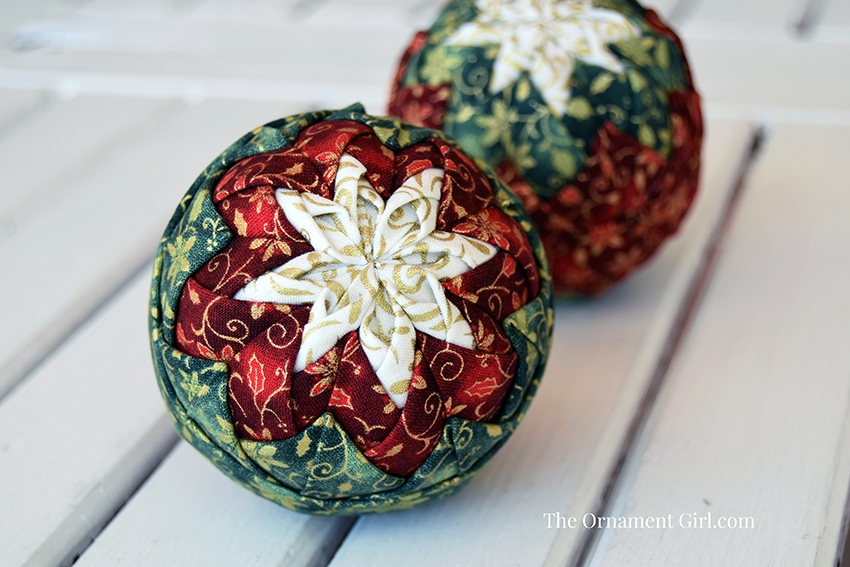 Quilted Christmas Ball Ornament Patterns