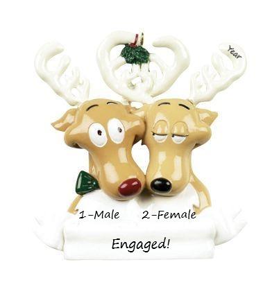reindeer engaged