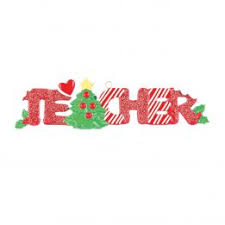 Teacher Personalised Christmas Ornament