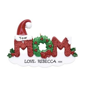 Mom Personalised Christmas Ornament