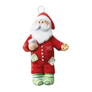Cookie santa Personalised Christmas Ornament