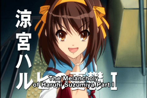 The Melancholy of Haruhi Suzumiya Part I