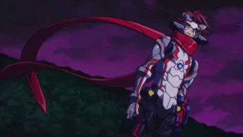 Sacred Geass Rider Seven hero... thing