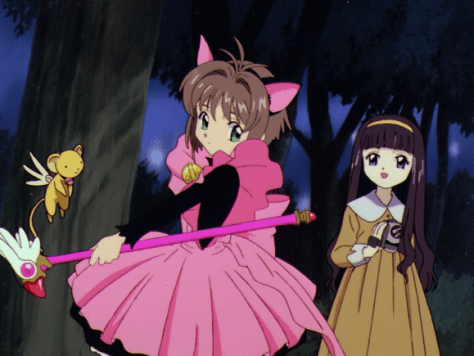 Tomoyo likes the Nekomimi Sakura
