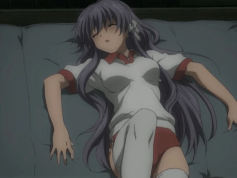 If only it were Tomoyo's thighs
