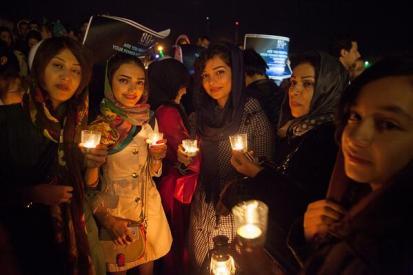 Earth Hour 2014 in Iran - Tehran - 01