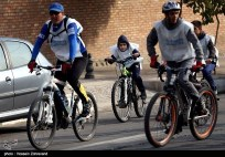 Iranian Cyclists Mark World Diabetes Day 04