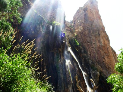 Fars, Iran - Sepidan County - Abshare Margoon (waterfall) near Sepidan_03